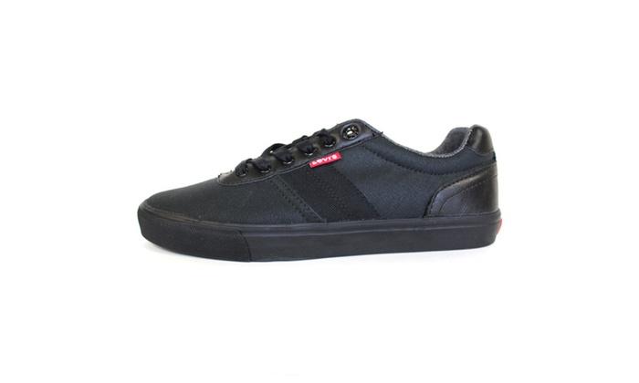 Levi's Men's Turner Mono Fashion Sneaker Black Mono Chrome 517437-A48