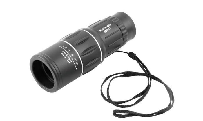 16x52 Monocular Dual Focus Optics Zoom Telescope
