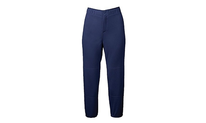 Mizuno Select Non-Belted Low Rise Fastpitch Pant Small, Navy