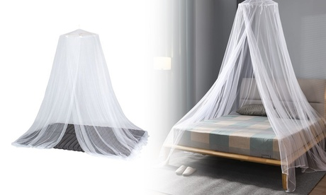 Mosquito Net Dome Easy Installation with Breathable Mesh Net and Conical Design