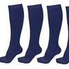Briefly Unisex Graduated Compression Support Socks 5 pairs