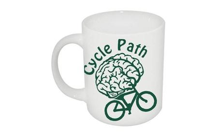 Cyclepath Coffee Mug Bicyclist Coffee Mug fe18a8e8-dd4a-4bf1-b9fb-af4696bb99db