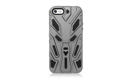 For iPhone 5 5s SE Hybrid Rugged Shockproof Rugged Rubber Hard Case