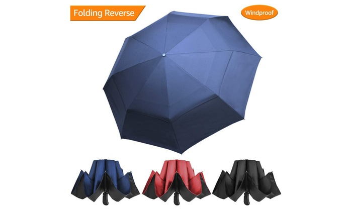 Travel Umbrella Windproof-Cool High Heels Shoes Pattern,Durable Folding Compact Umbrella for Outdoor Rainy Use Auto Open and Close Button