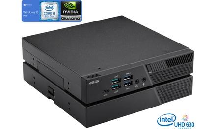 ASUS PB60G , i3-8100T, 8GB RAM, 256GB SSD, NVIDIA Quadro P620, Windows 10 Pro