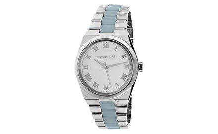 Michael kors women 39 s channing watch groupon for Michaels craft store watches
