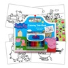 Peppa Pig Art Activity Set With Coloring Book Pages