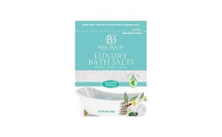 Bazic Beauty Luxury Bath Epsom Salt 4lb Bag