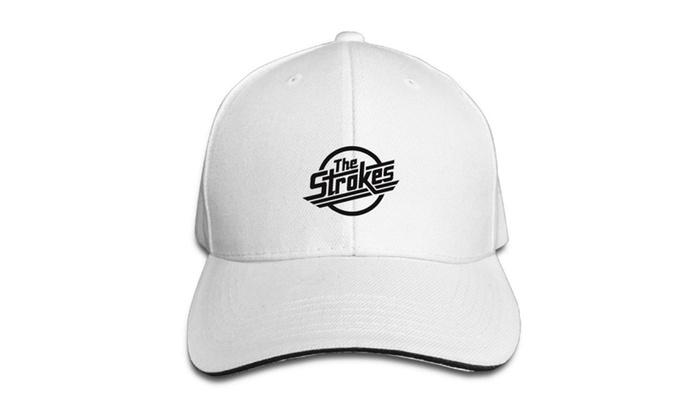 The Strokes Reptillia Is This It Album Music Baseball Cap Hats White