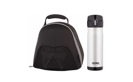 Thermos Star Wars Darth Vader Lunch Kit w/ 16 Oz Drink Bottle 52690461-ff76-48ee-9d07-6e8d9b2ef435