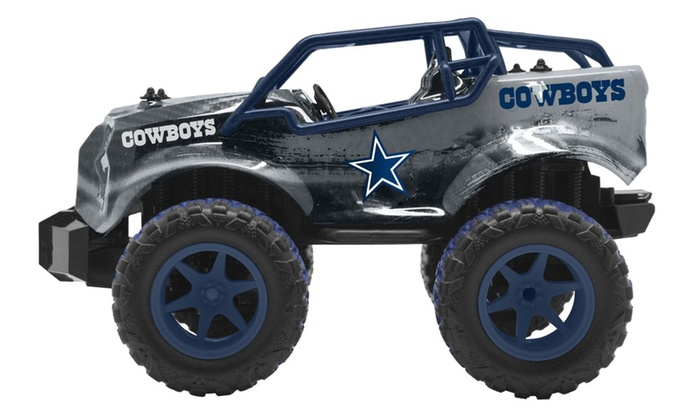 Nfl Toy Trucks : Officially licensed nfl remote control monster trucks by
