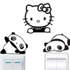 Cute Characters Vinyl Decal Sticker Home Decoration