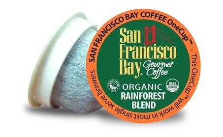 San Francisco Bay Coffee K-cups 12 Count, Rainforest Blend (6 pack) 7a45507a-f0d1-4bec-8d7a-943b8c1aa5b4