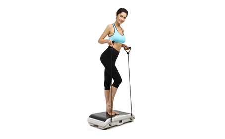 X-MAG Whole Body Vibration Fitness Trainer Platform Machine with Strap 5de5caa6-c24a-4a5e-bbe4-179d3a9850da