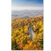 Pierre Leclerc 'Blue Ridge Parkway' Canvas Art