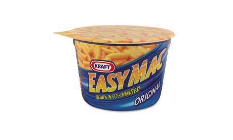 Kraft Foods, Inc Easy Mac Macaroni & Cheese, Micro Cups, 2.05oz 2d784510-d5c8-409b-8527-9a8ba4295d7a