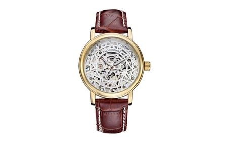Men's Mechanical Luxury Wrist Watch Leather a5de0238-a896-4e05-806a-6e37c0589bbf