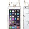 Insten Hard 3D Rubberized Case Chain  Diamond For iPhone 6 Plus Clear