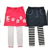 Angelina Girls' Footless Tights with Attached Skirt (3-Pack)