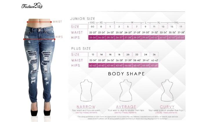 -Butt Lifting Destroyed ripped CB9-92461 S Levanta Cola Skinny Jeans