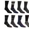 William Rast Men's Casual Dress Socks (3-Pack)