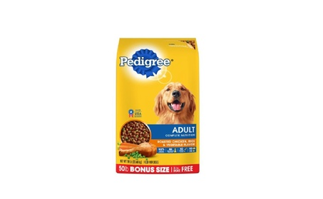 PEDIGREE Adult Complete Nutrition Dry Dog Food 50 Pounds