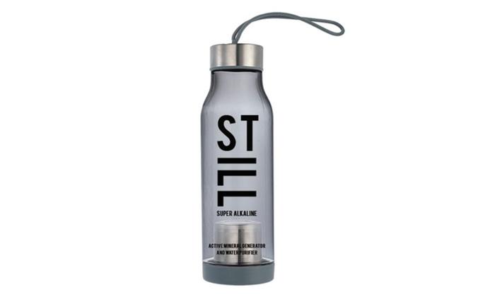 STILL Super Alkaline Sport Water Bottle