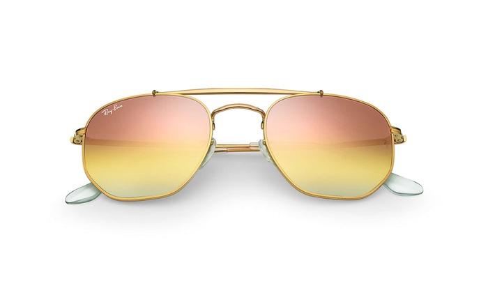 ... Ray Ban Marshal Unisex RB3648 9001I1 Bronze Copper Frame   Pink Gradient  Lens ... 7b91ceea7e7