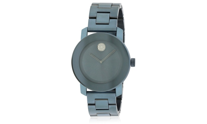 405df62c9 Movado Bold Blue Ion Ladies Watch 3600494 | Groupon