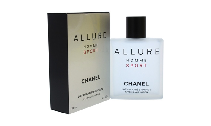 2020e5ecd164 Allure Homme Sport After Shave Lotion by Chanel for Men - 3.4 oz ...
