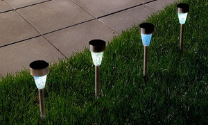 Solar Mosaic Lights by Pure Garden (4-Pack)
