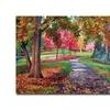 David Lloyd Glover September Park Canvas Print