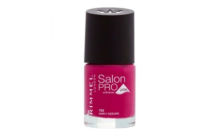 Rimmel London Salon Pro Nail Polish 702 Simply Sizzling 0.4oz 4dbd2202-f65c-4dda-9ccb-de5f499f15dc