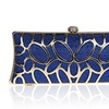 Womens Rhinestone Party Evening Fashion Handbag Cluth Bag