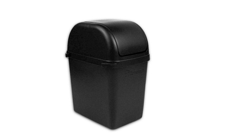 Zone Tech Mini Car Garbage Trash Litter Wastebasket Can Latch Grip - Single Pack 8f45e86a-2a01-4224-8ed0-25078ccf6f8f
