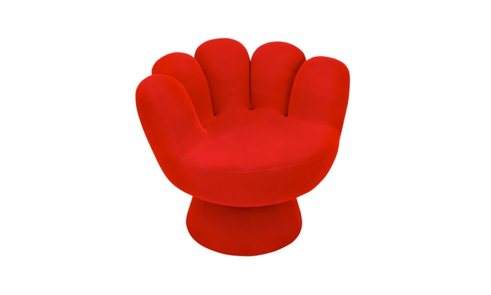 Lumisource Mitt Chair   Red