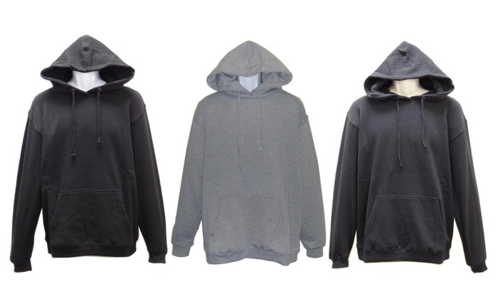 SPECIEN Adult Unisex Middle Weight Fabric Hooded Pullover Sweatshirt