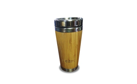 Kamp Kuts Bamboo Travel Mug - 15.2oz Coffee Cup With Quick Seal Lid 052cd76b-f338-4ded-bd37-2589392bcce8