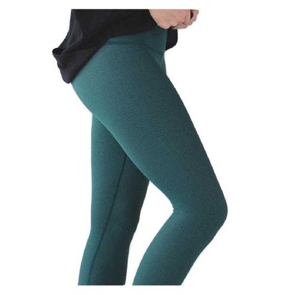 f011624c0 Lululemon Wunder Under Pant III Yoga Pants Deep Green Luon