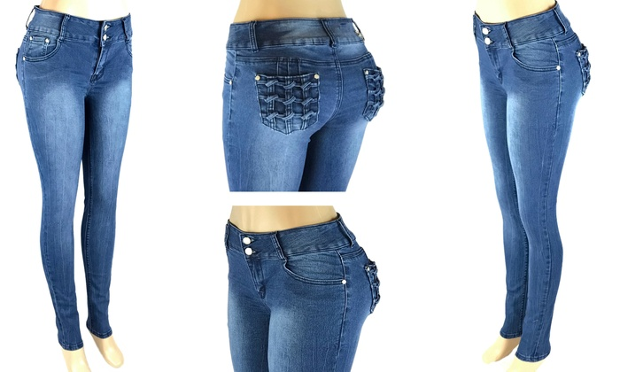Butt Lifter jeans BEST QUALITY! Authentic Colombian Push Up pants Butts up