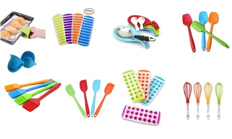 4 Pack Silicone Kitchen Utensils & Gadgets- Style Options