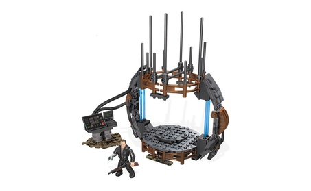 Mega Bloks Terminator Genisys Time Machine Kit 185 Pcs Set Ages 8+ c47b1132-d193-402e-a52e-d6162954acba