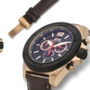 Brandt And Hoffman Priestley Chronograph Mens Watch Brown/Black