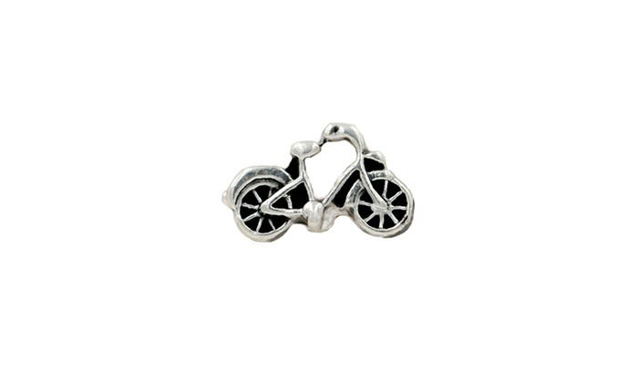 iPops Single Pack Bicycle Fitbit/Apple Watch Band Charm