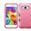 Insten Tuff Hard Hybrid Case For Samsung Galaxy Core Prime Pink/gray