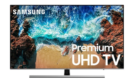 Samsung 8-Series 4K Ultra HD HDR Slim Design Smart TV photo