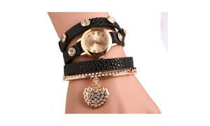 Women's Fantastic Phoebe Jewelry Watch - Assorted Colors at Groupon Goods, plus 6.0% Cash Back from Ebates.