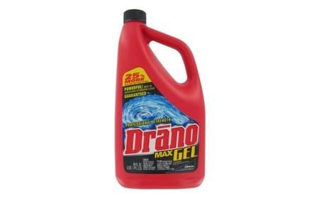 Johnson Wax 80 Oz Drano Max Gel Clog Remover 40109 - Pack of 6