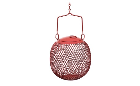 Sweet Corn Products Llc - No-no The Seed Ball Wild Bird Feeder- Red (Goods For The Home Patio & Garden Bird Feeders & Food) photo