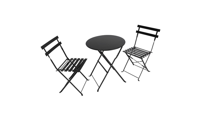 Up To 20 Off On Outdoor 3 Piece Patio Set Fol Groupon Goods